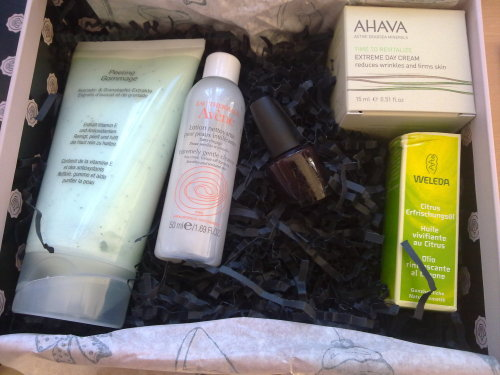 Glossy Box April 2012