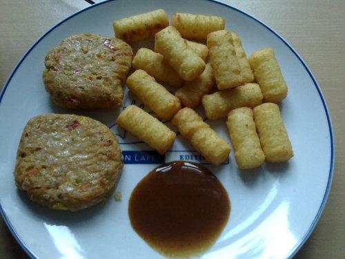 Tofu-Bratlinge & Kroketten
