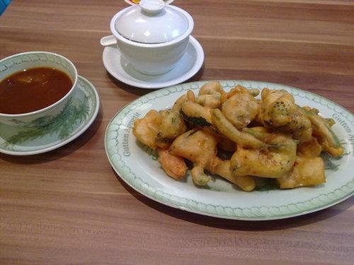Chinesisch süß-sauer