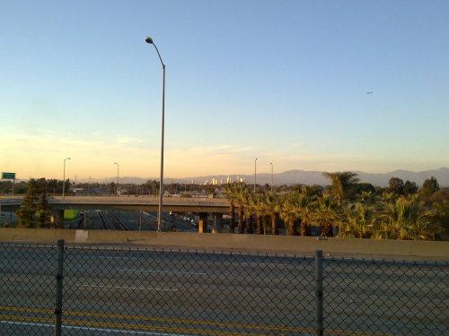 Mein Blick auf Downtown LA