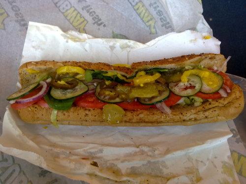 Subway Sandwich Houston