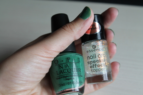 NOTD: OPI meets Essence