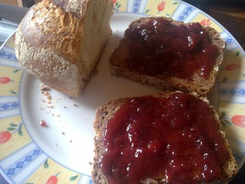 Marmeladiges Frühstück