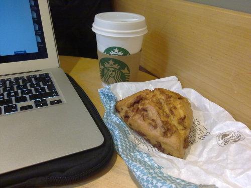 Starbucks und Wuppi