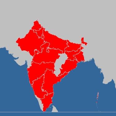 Bereistes Indien