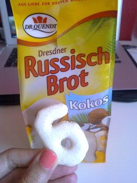 Russisch Brot Kokos