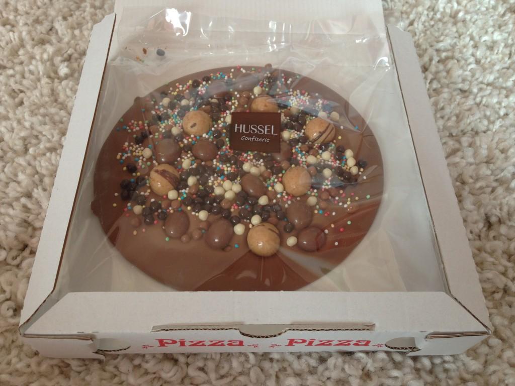 Hussel Schokoladen-Pizza Bambini