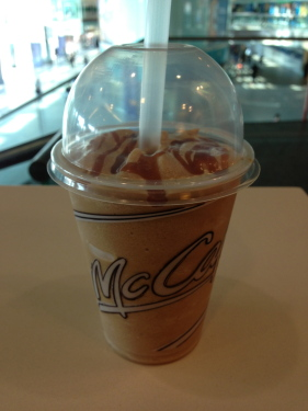McDonalds Caramel Frappe