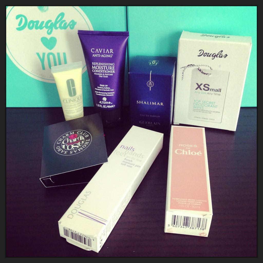 Douglas Box of Beauty September 2013