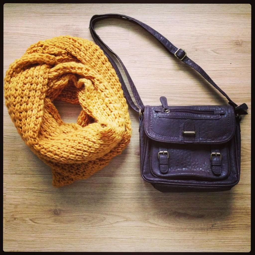 Tasche & Schal