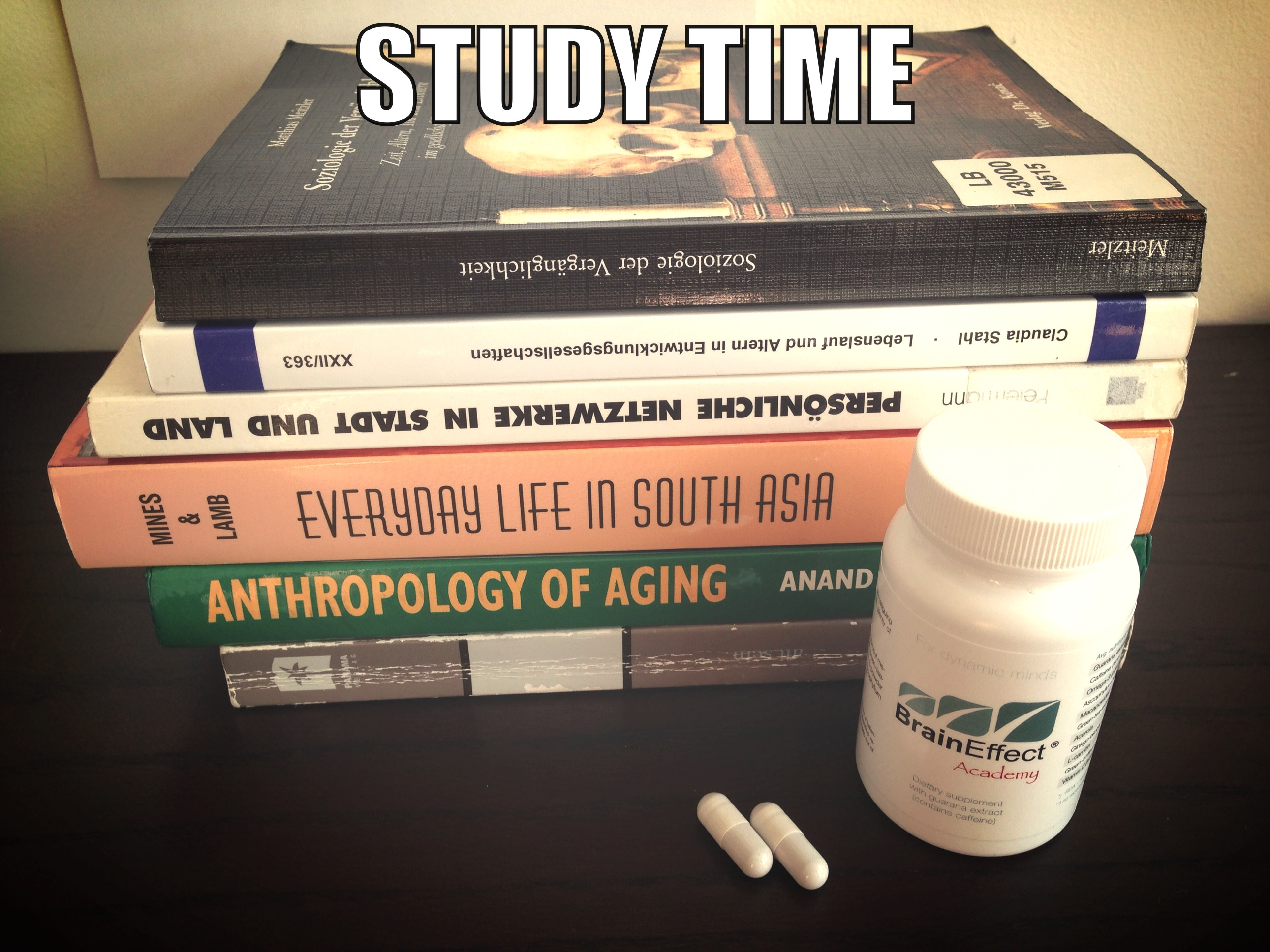 Time to study!