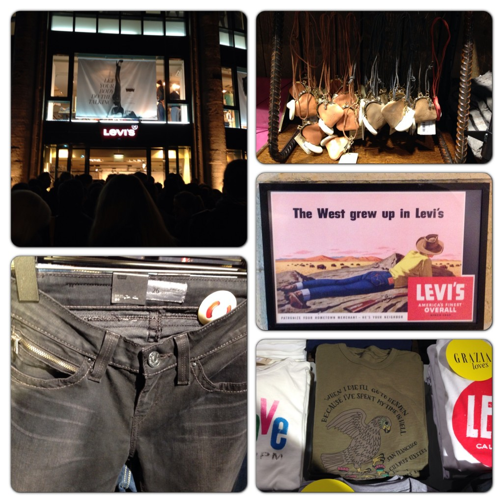 Levi's & Grazia Shopping Event