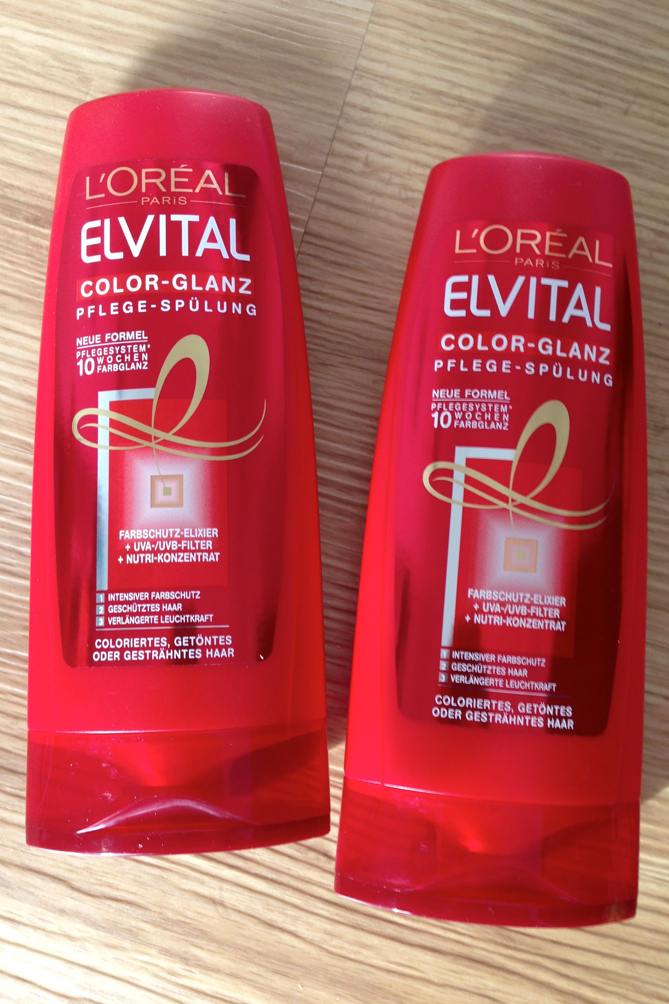 Quicktipp Loreal Elvital Color Glanz Shampoo Spülung Gratis