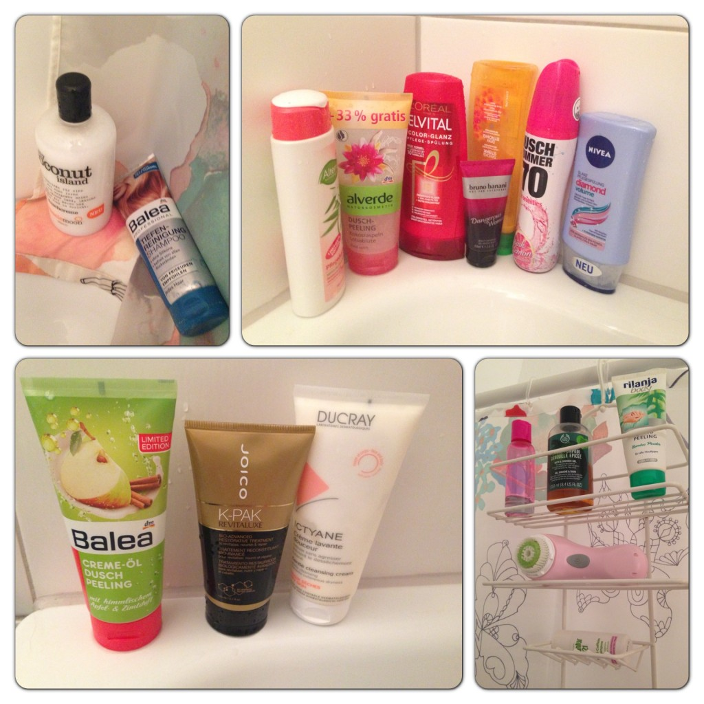 What's in my shower - Herbstedition