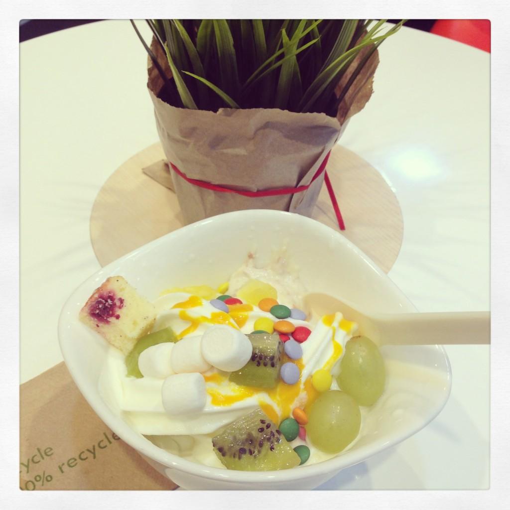 Frozen Yoghurt bei Youghurt