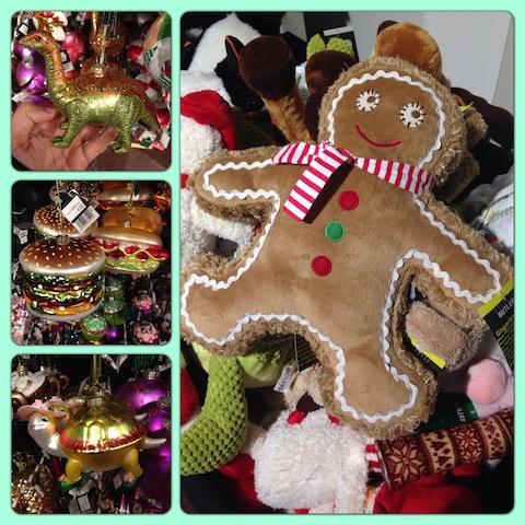 weihnachtsdeko bei butlers und die suche nach dem kleid