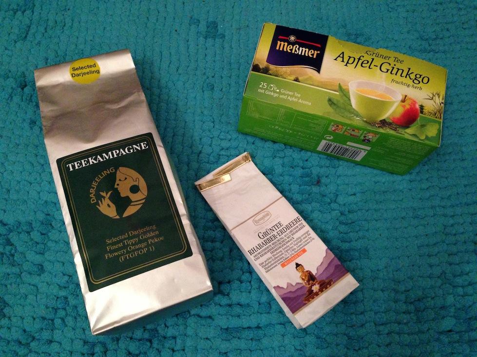 Grüner Tee Selektion
