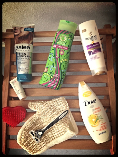 What's in my shower Frühling