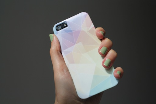 Pastel Crystals iPhone Case