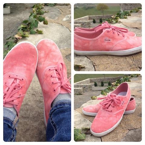 Lacoste Schuhe Batik flamingo
