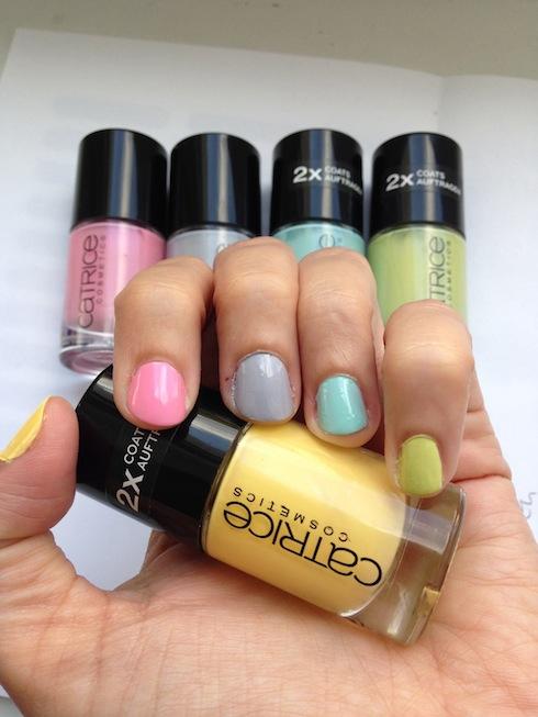 NOTD Pastell-Regenbogen