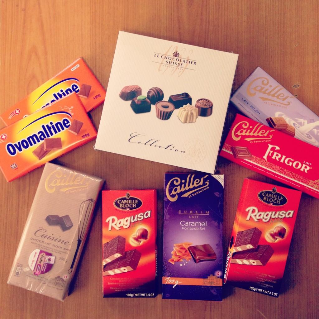 Schweiz Schokolade