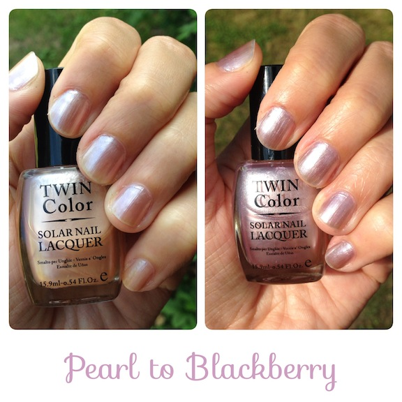 Twin Color Solar Nail Lacquer
