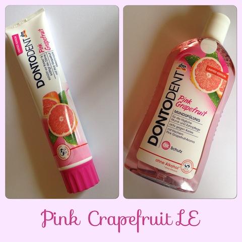 Dontodent Pink Crapefruit Zahnpasta & Mundspülung