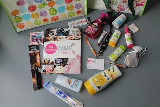 DM Marken Camp Beauty Goodiebag