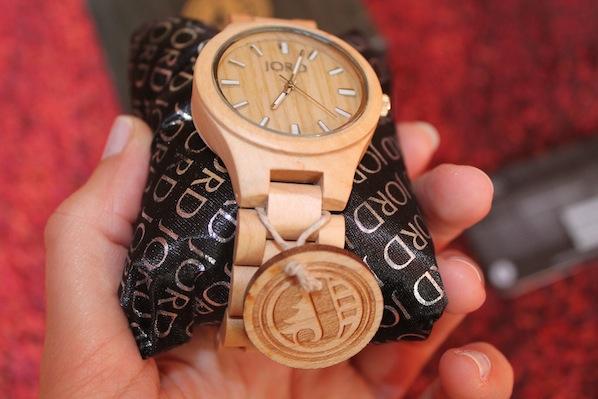 Armbanduhr Aus Holz Ukraine ~ Fashion] Meine neue hölzerne Jord Armbanduhr! – Leonas Lalaland