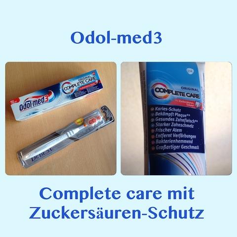 Odol-med3 Complete Care Zuckersäuren-Schutz