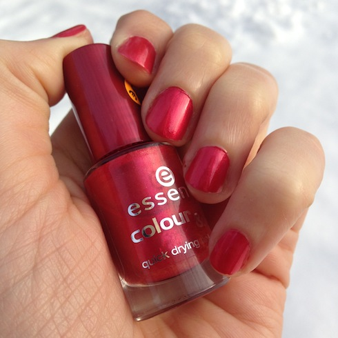 Essence Red-y to Go NOTD