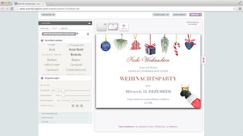 Last minute weihnachtskarten online erstellen leonas - Weihnachtskarten erstellen ...