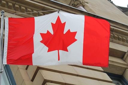 Kanadische Flagge Ottawa