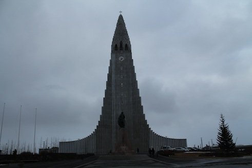 Reykjavik Kirche