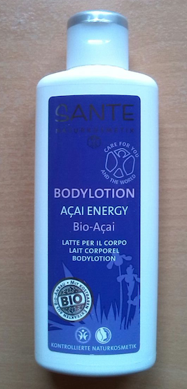 sante acai energy bodylotion