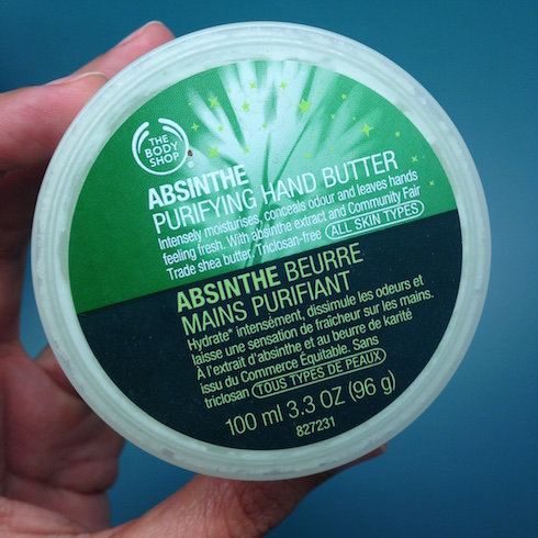 Absinthe Purifying Hand Butter The Body Shop