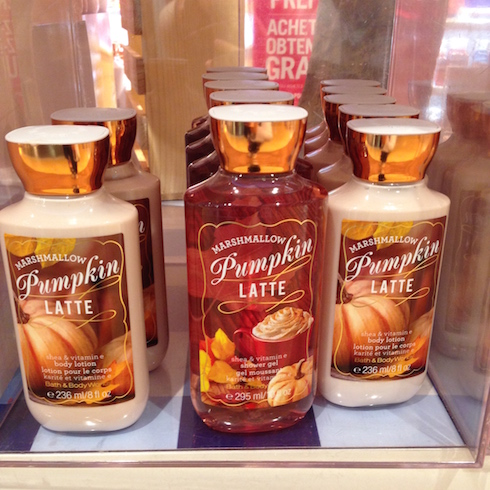 Marshmallow Pumpkin Bath&Body Works