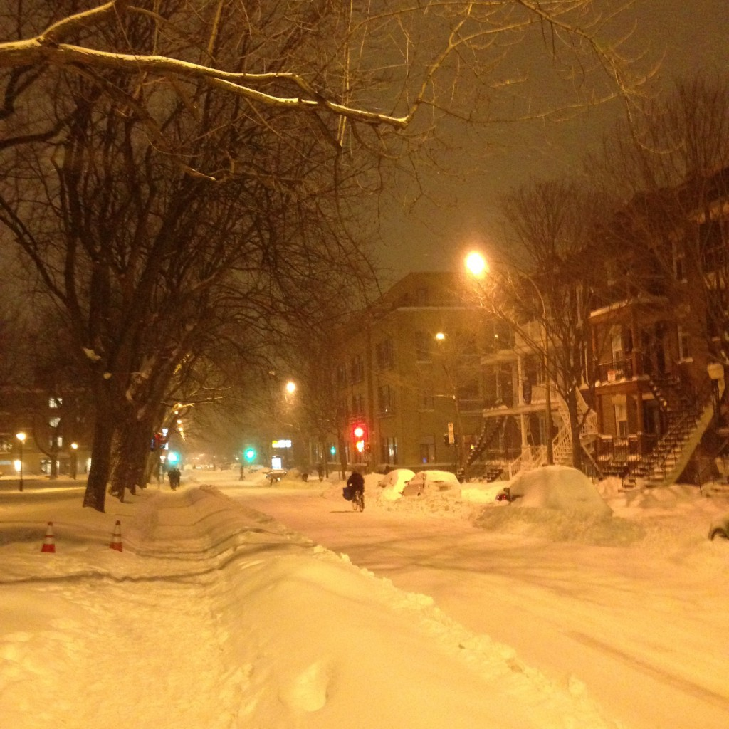 Winter Montreal