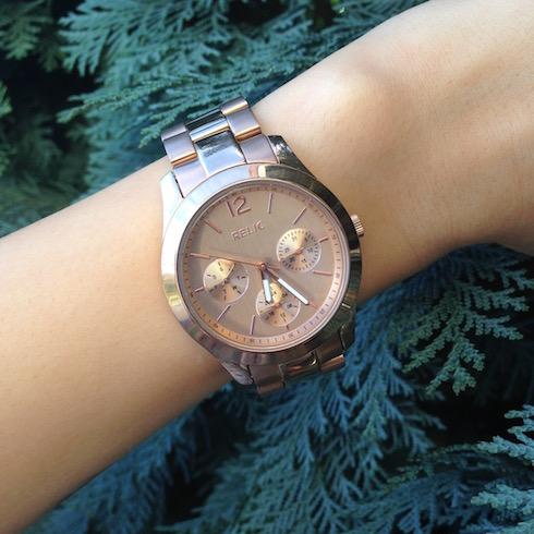 Armbanduhr Relic rose