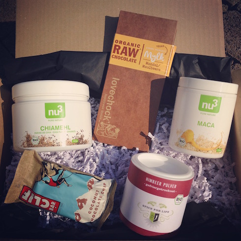 Vegan Treat Box Nu3 Insider Box
