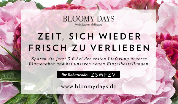 Gutschein Bloomy Days