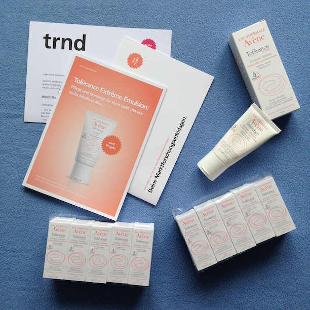 trnd Projekt Tolerance Extreme Emulsion Avene
