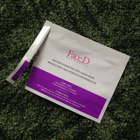 FaceD Instant Hydrating Anti-Aging Mask