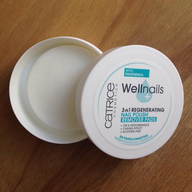 Catrice Wellnails Nailpolish Remover Pads