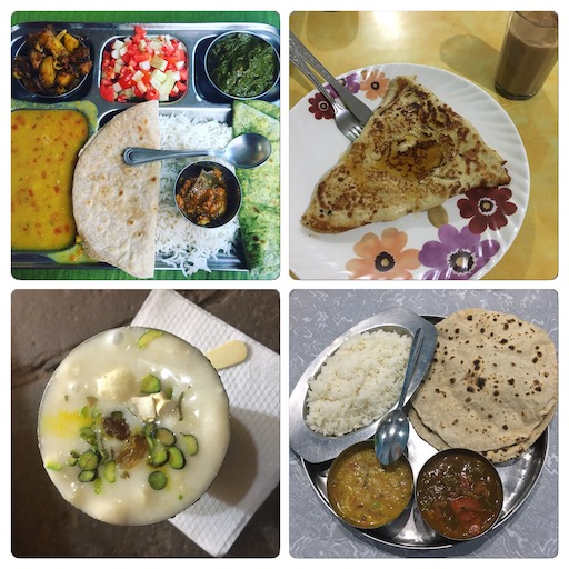 Indische Tellereinblicke