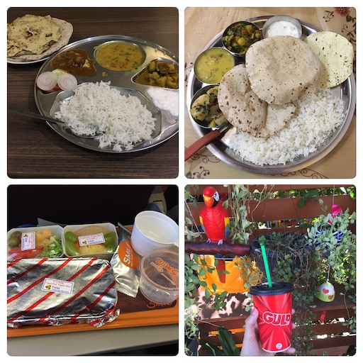Indisch Thai Tellereinblicke